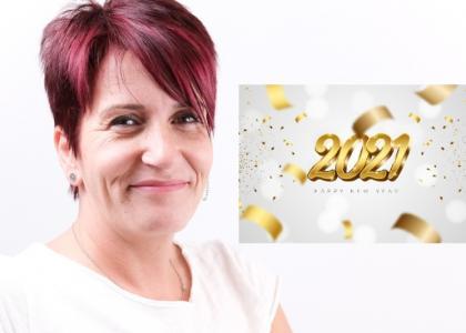 Isabelle Croisiau, votre psycoach en ligne vous souhaite une bonne année 2021